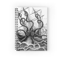 Attack of the Giant Octopus Spiral Notebook