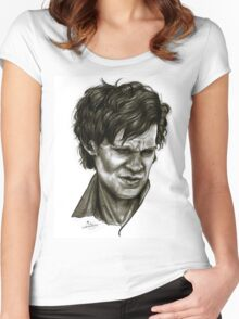 """""""Choices"""" (Matt Smith/Doctor Who) Women's Fitted Scoop T-Shirt"""