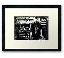 Levi Framed Print