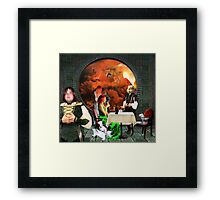 Second Thoughts Framed Print