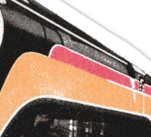Retro Train Sticker