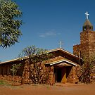 Balgo Hills Stone Church,Tannami Track,WA by Joe Mortelliti