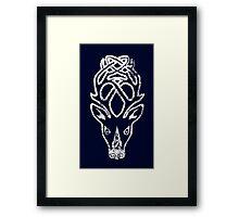 Skyrim Distressed Falkreath Logo Framed Print