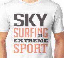 Sky Surfing Extreme Sport Unisex T-Shirt