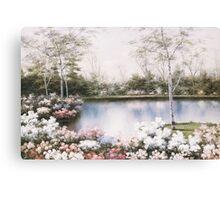 WHITE BIRCHES by DIANE ROMANELLO Canvas Print