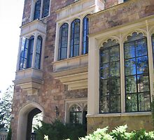 Castle at Glen Eyrie, Garden of the Gods by Pat Yager