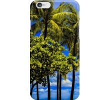 Trees on a Beach iPhone Case/Skin