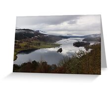 Loch Tummel Greeting Card