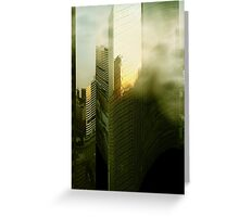 Distorted World Greeting Card