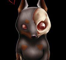 : CHIBI ZOMBIE DOG  : by Hiroyasu Ike