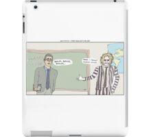 Beetlejuice + Ferris Bueller's Day Off iPad Case/Skin