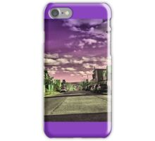 Into the Purple Horizone iPhone Case/Skin