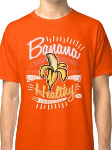 Cool Banana Healthy Pop Art Classic T-Shirt
