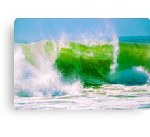 Emerald Waters Canvas Print