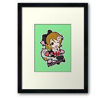 Hanayo Chibi Framed Print