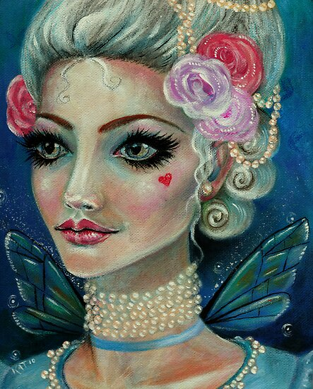 Marie Antoinette Faerie love love by KimTurner