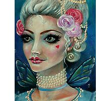 Marie Antoinette Faerie love love Photographic Print