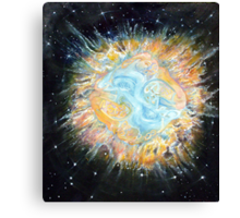 Entwined Celtic Galaxy Print Canvas Print