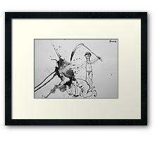 war #5 Framed Print