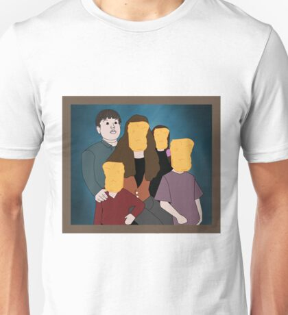 Chicken Nuggets is like my Family Unisex T-Shirt