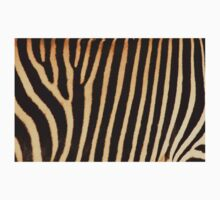 Grevy Zebra Design One Piece - Short Sleeve