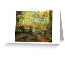Across the Stream Greeting Card
