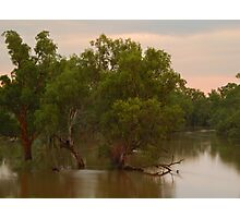 River in Flood Photographic Print