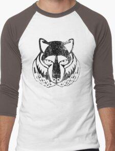 Skyrim Distressed Solitude Logo Men's Baseball ¾ T-Shirt