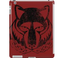 Skyrim Distressed Solitude Logo iPad Case/Skin