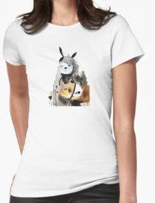 Saturday Womens Fitted T-Shirt