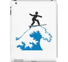 Wave Riding iPad Case/Skin