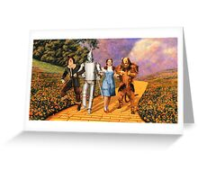 the wizard of oz Greeting Card