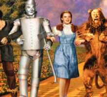 the wizard of oz Sticker