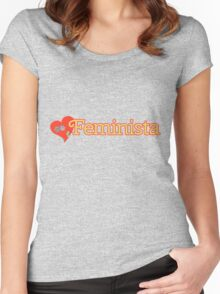 Feminista Women's Fitted Scoop T-Shirt