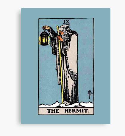 The Hermit Tarot Card  Canvas Print