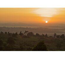 Eastern Kampala Sunrise, Uganda Photographic Print