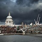St. Paul's against The Sky by Andy F