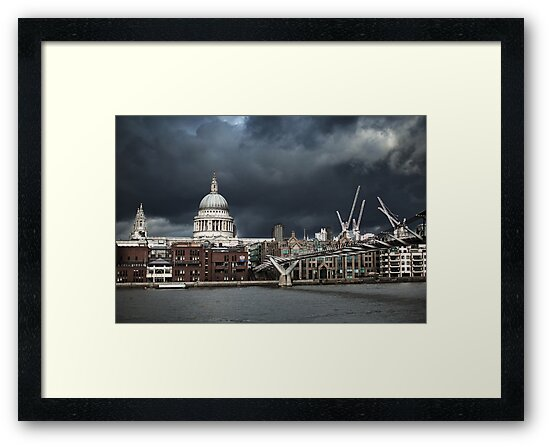 St. Paul's against The Sky by Andy Freer