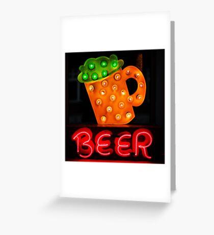 B33R Greeting Card