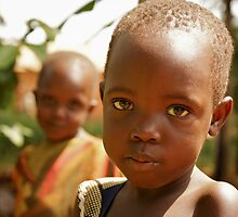 It's All In The Eyes - Uganda, Eastern Africa by Karl Lindsay