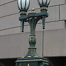 handsome Princes Bridge lamps, Melbourne by BronReid