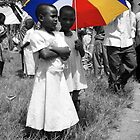 Colour In A Black & White World - Uganda, Eastern Africa by Karl Lindsay