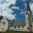 Parish Church of St Mark, Deloraine, Tasmania by BronReid