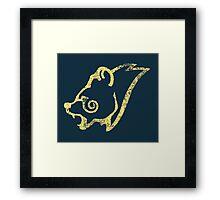 Skyrim Distressed Windhelm Logo Framed Print