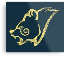 Skyrim Distressed Windhelm Logo Metal Print