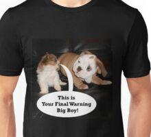 English Bulldog and Shih Tzu Puppies Unisex T-Shirt