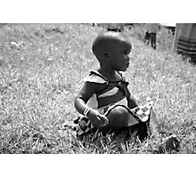 Deep In Thought - Uganda, Eastern Africa Photographic Print