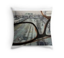 Make the Big Feats Small Throw Pillow