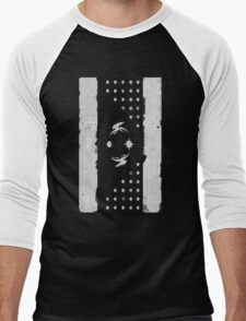 Faded Friendship (white) Men's Baseball ¾ T-Shirt