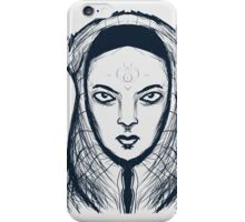 Evil Demon Priestess iPhone Case/Skin